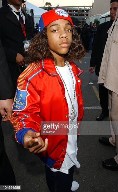Lil' Bow Wow arrives at the 29th Annual American Music Awards January 9 2002 at the Shrine Auditorium in Los Angeles