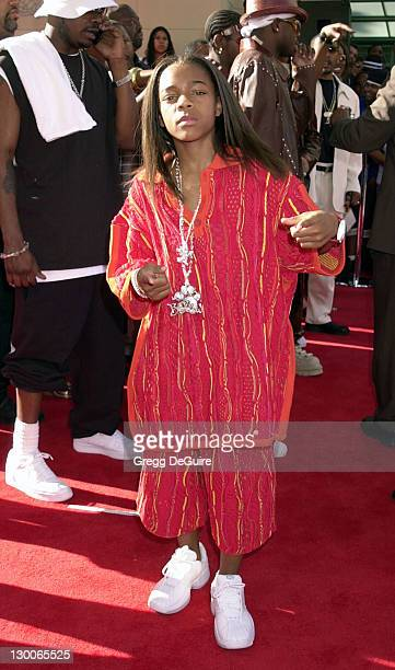 Lil' Bow Wow arrives during the 1st Annual BET Awards June 19 2001 at the Paris Hotel and Casino in Las Vegas Nevada