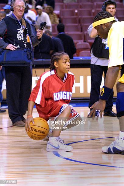 Lil Bow Wow at the NBA AllStar Game at the First Union Center in Philadelphia Pa 2/10/02 Photo by Scott Gries/NBAE/Getty Images