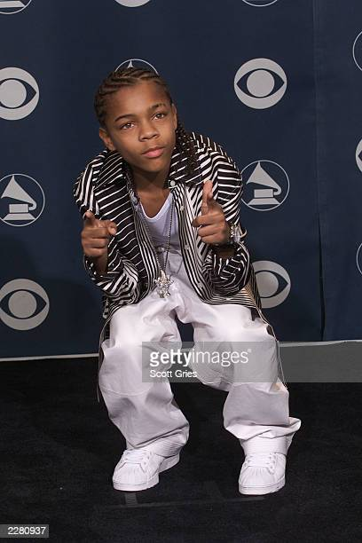 Lil' Bow Wow backstage at the 43rd Annual Grammy Awards at Staples Center in Los Angeles Wednesday Feb 21 2001 Photo by Scott Gries/ImageDirect