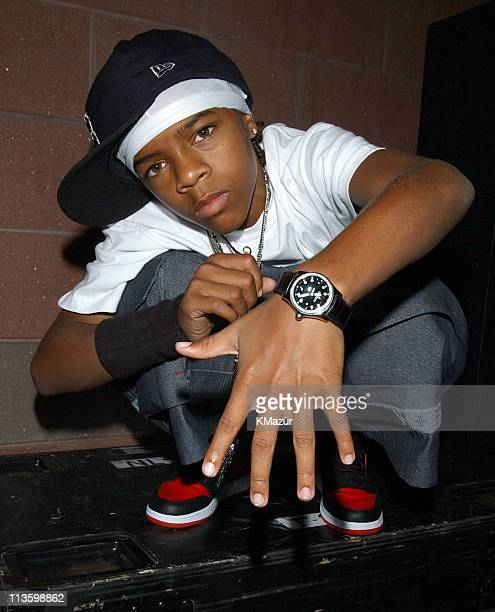 Lil' Bow Wow during 2001 Arthur Ashe Kids' Day at USTA National Tennis Center in Flushing Meadows New York United States