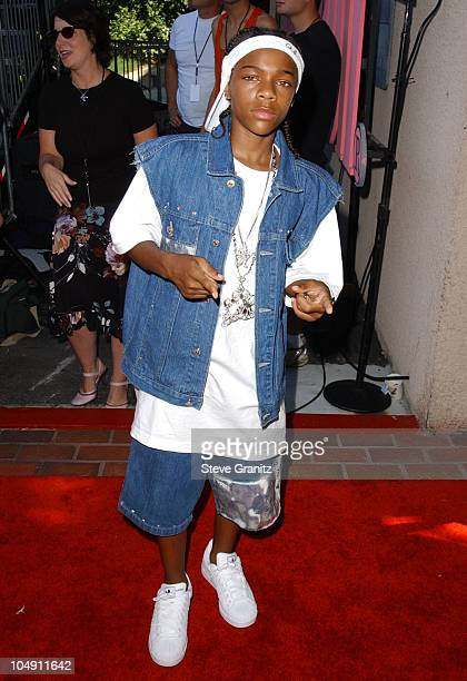 Lil' Bow Wow during 2001 Teen Choice Awards Arrivals at Universal Amphitheater in Universal City California United States