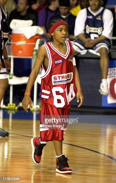 Lil' Bow Wow during MTV's Rock 'N Jock NBA AllStar Jam at Philadelphia Convention Center in Philadelphia Pennsylvania United States