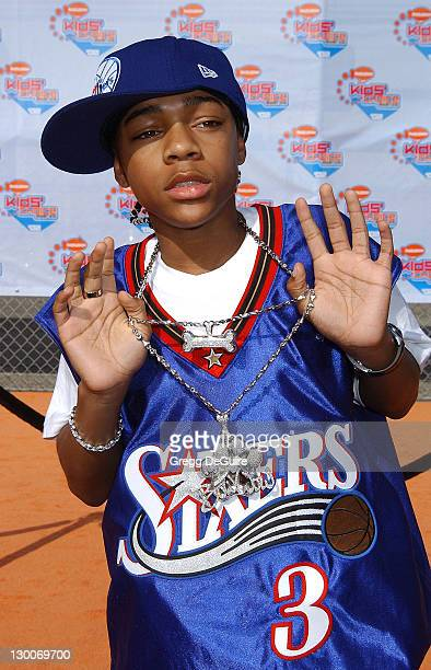 Lil' Bow Wow during Nickelodeon's 15th Annual Kids Choice Awards Arrivals at Barker Hanger in Santa Monica California United States