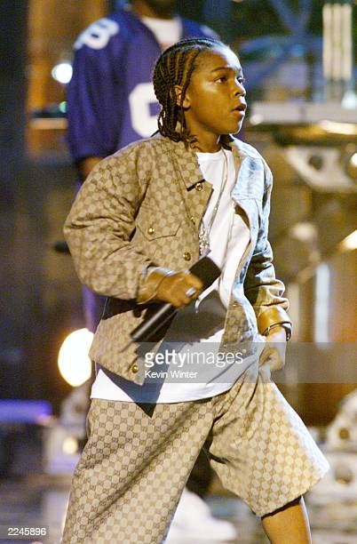 Lil Bow Wow performed at 'The Source Hip Hop Music Awards 2000' at the Pasadena Civic Auditorium in Los Angeles Ca 8/22/00