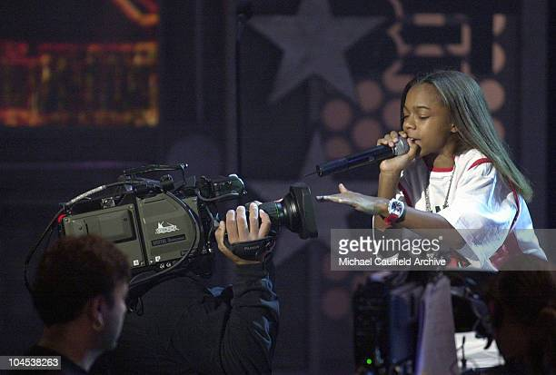 Lil' Bow Wow performs during the 1st Annual BET Awards June 19 2001 at the Paris Hotel and Casino in Las Vegas Nevada