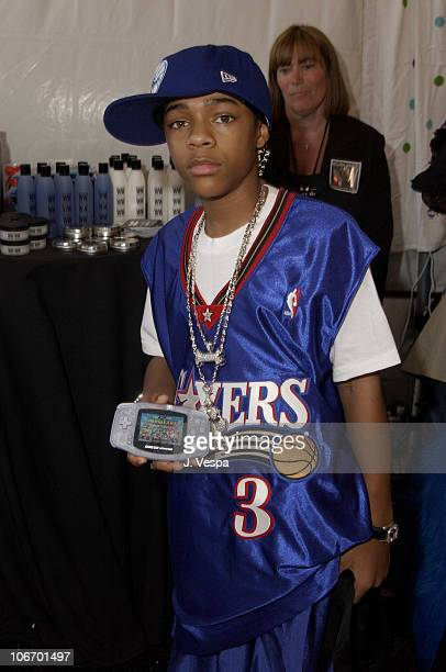 Lil' Bow Wow with Game Boy Advance during Nickelodeon's 15th Annual Kids Choice Awards Backstage Creations Talent Retreat Day 2 at Barker Hangar in...