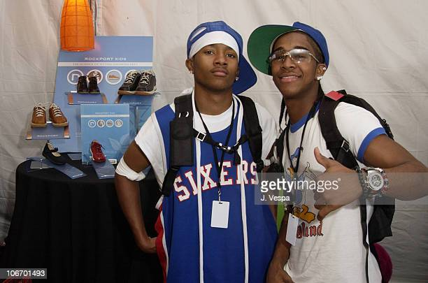 Lil' Bow Wow with Rockport Kids during Nickelodeon's 15th Annual Kids Choice Awards Backstage Creations Talent Retreat Day 2 at Barker Hangar in...