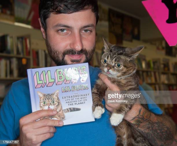 Lil Bub visits at Bookends Bookstore on September 3 2013 in Ridgewood New Jersey