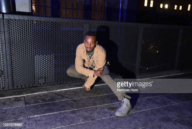 Lil Buck attends the screening of the rag bone film Time Of Day at The High Line on September 10 2018 in New York City