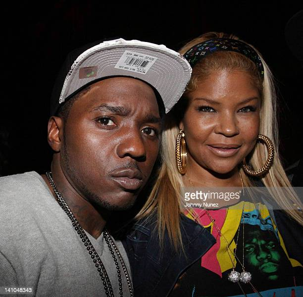 Lil Cease and Misa Hilton attend A Celebration of the Legacy of The Notorious BIG at Rebel NYC on March 9 2012 in New York City