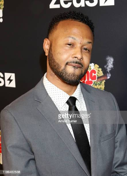 Lil D attends Tokyo Toni's Finding Love ASAP Los Angeles premiere at AMC Theaters Universal City Walk on November 08 2019 in Universal City California