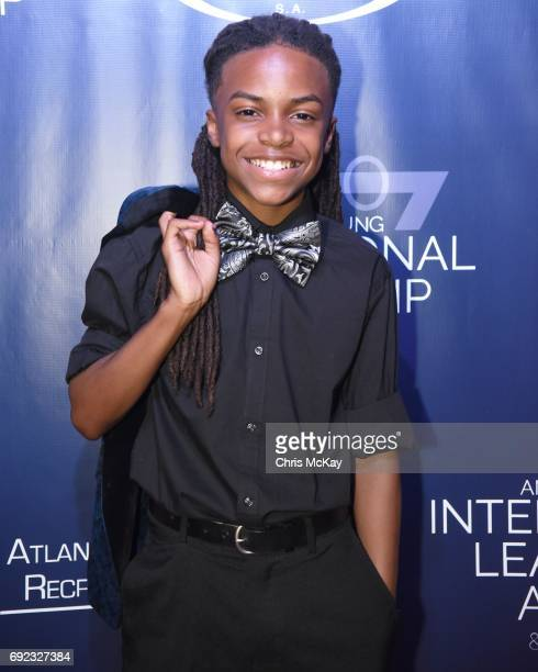 Lil Dee Dee walks the red carpet at The 2017 Andrew Young International Leadership Awards and 85th Birthday Tribute at Philips Arena on June 3 2017...
