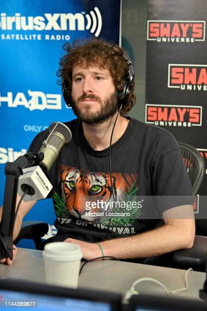 Lil Dicky appears on Sway's Universe at SiriusXM Studios on April 22 2019 in New York City