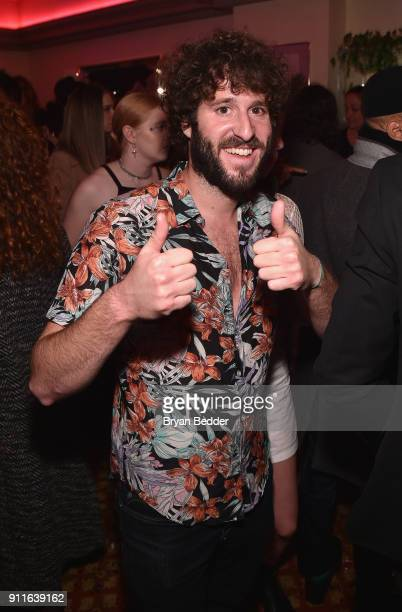 Lil Dicky attends the 60th Annual Grammy Awards after party hosted by Benny Blanco and Diplo with SVEDKA Vodka and Interscope Records on January 29...