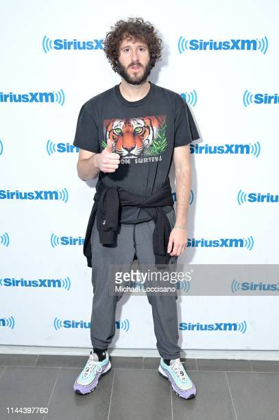 Lil Dicky visits SiriusXM Studios on April 22 2019 in New York City