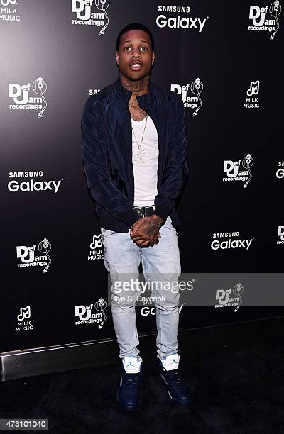 Lil durk stock photos and pictures getty images lil durk attends the def jam upfronts 2015 showcase powered by samsung milk music milk video winobraniefo Choice Image