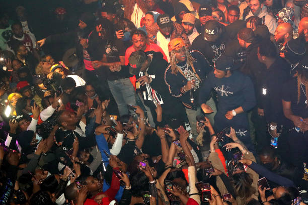 GA: Lil Durk Hosts Domaine Night Club