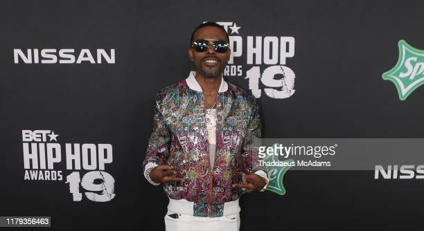 Lil Duval arrives to the 2019 BET Hip Hop Awards on October 05 2019 in Atlanta Georgia