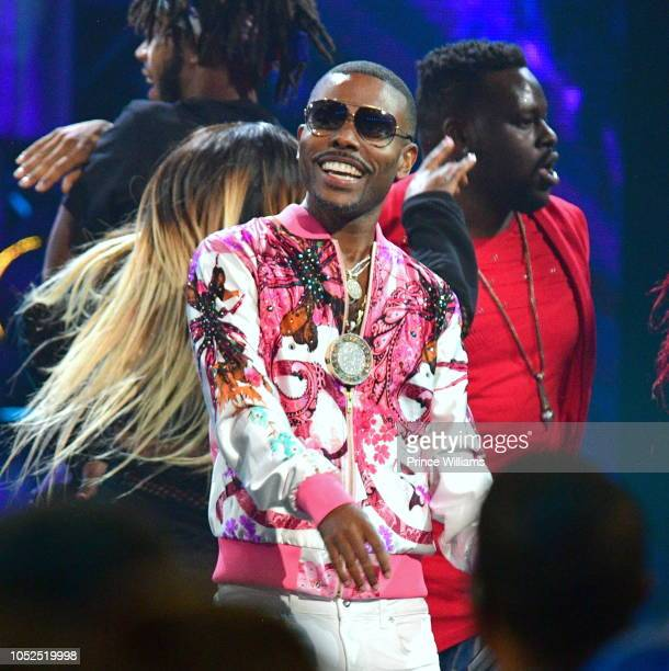 Lil Duval performs at the BET Hip Hop Awards 2018 at Fillmore Miami Beach on October 6 2018 in Miami Beach Florida