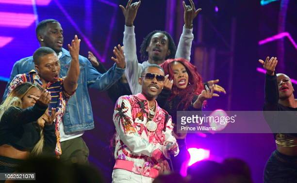 Lil Duval performs at the BET Hip Hop Awards 2018 at Fillmore Miami Beach on October 16 2018 in Miami Beach Florida