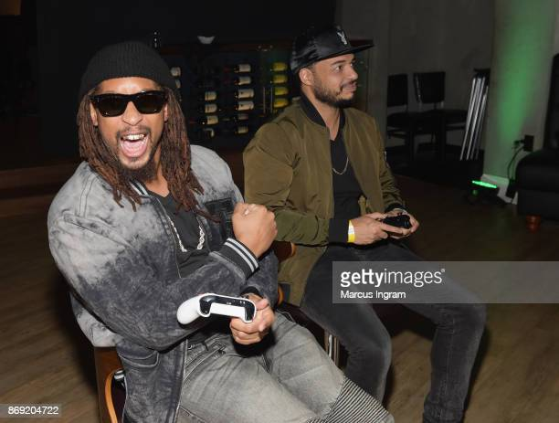Lil Jon and guest attend the Xbox One X Launch Event at 5Church on November 1 2017 in Atlanta Georgia