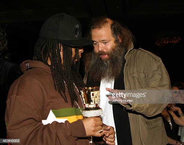 Lil' Jon and Rick Rubin during 2005 Adult Video News Awards at Venetian Hotel in Las Vegas Nevada United States