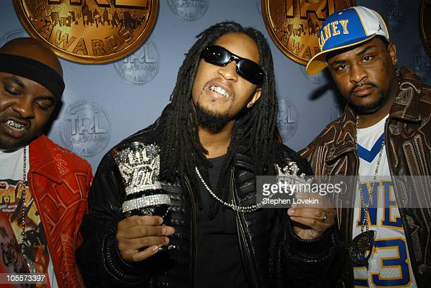 Lil' Jon and The East Side Boys during 3rd Annual MTV TRL Awards Arrivals at MTV Studios in New York City New York United States