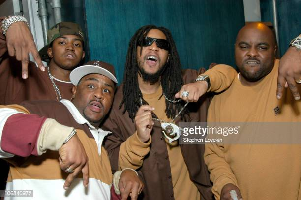 Lil Jon and The East Side Boyz during Lil' Jon and The East Side Boyz Ryan Cabrera and Adam Brody Visit MTV's 'TRL' November 11 2004 at MTV Studios...