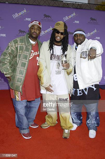 Lil' Jon and the East Side Boyz during The 2003 Billboard Music Awards Outside Arrivals at MGM Grand Garden Arena in Las Vegas Nevada United States