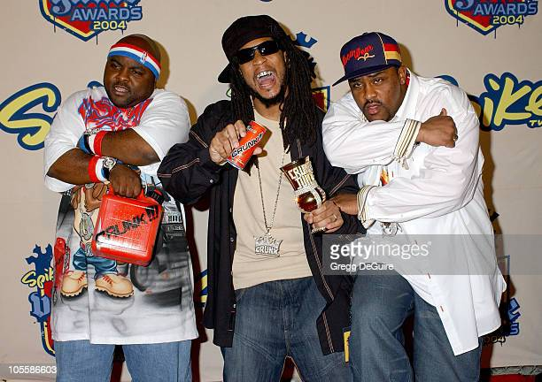Lil Jon and The Eastside Boyz during Spike TV Video Game Awards 2004 Arrivals at Barker Hangar in Santa Monica California United States