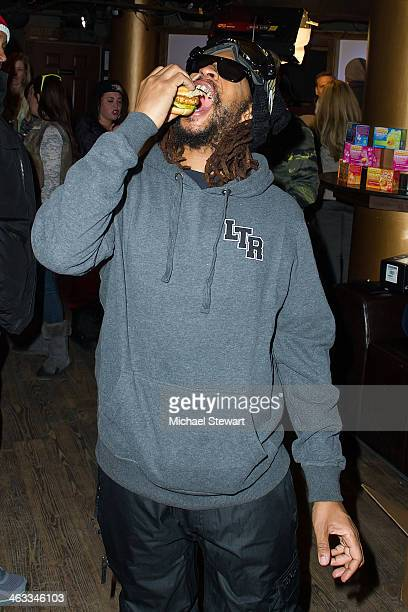 Lil Jon attends Oakley Learn To Ride With AOL At Sundance Day 1 on January 17 2014 in Park City Utah