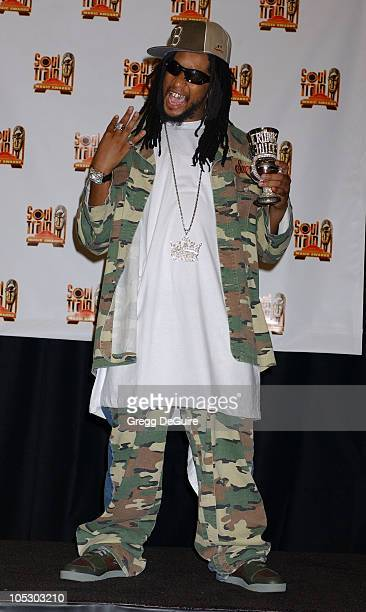 Lil' Jon during 18th Annual Soul Train Music Awards Press Room at International Cultural Center in Los Angeles California United States