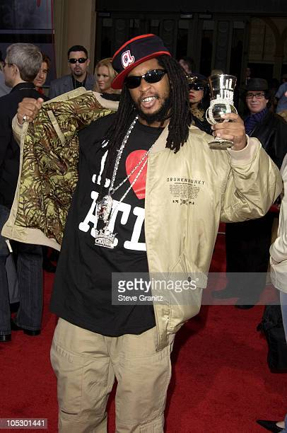 Lil Jon during 31st Annual American Music Awards Arrivals at Shrine Auditorium in Los Angeles California United States