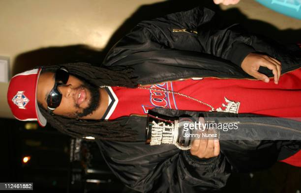 Lil' Jon during Anton Marchand's Birthday Party March 24 2004 at Boulevard in New York City New York United States