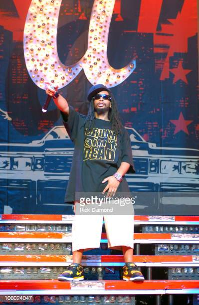 Lil Jon during Boost Mobile RockCorps Concert Tickets for community service at The Fox Theater in Atlanta Georgia United States