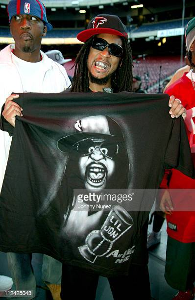 Lil' Jon during Hot 97 Summer Jam 2004 Backstage at Giants Stadium in New York City New York United States