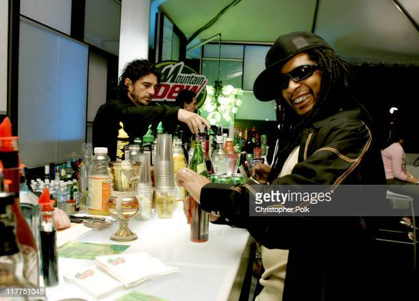Lil' Jon during Spike TV's 2nd Annual 'Video Game Awards 2004' Red Carpet at Barker Hangar in Santa Monica California United States