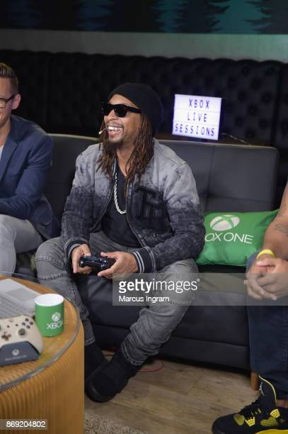 Lil Jon joins Xbox Live Sessions to play MIDDLE EARTH SHADOW OF WAR on Xbox One X on November 1 2017 in Atlanta Georgia