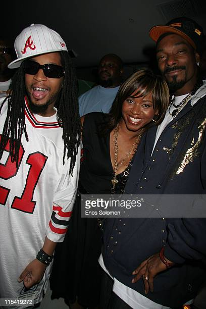 Lil' Jon with Snoop Dogg and his wife Shante Broadus