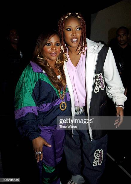 Lil' Kim and Da Brat during 2006 VH1 HipHop Honors Audience and Backstage at Hammerstein Ballroom in New York City New York United States