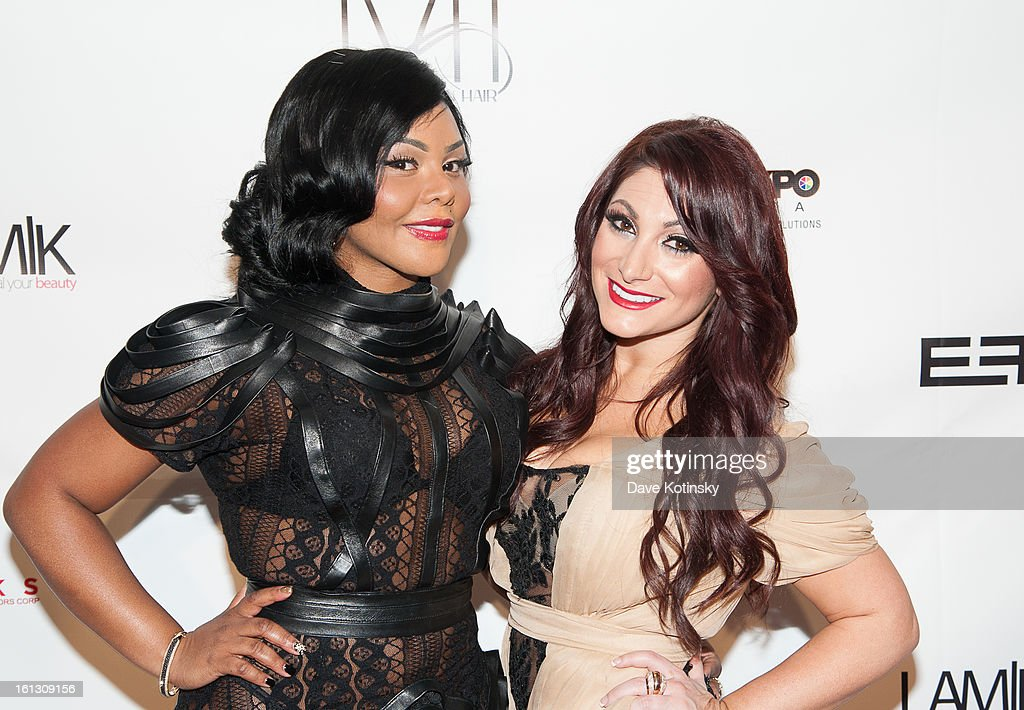 Lil' Kim and Deena Cortese attends 'The Reality Of Fashion, The Reality Of AIDS' Benefit during Fall 2013 Fashion Week at Altman Building on February 9, 2013 in New York City.