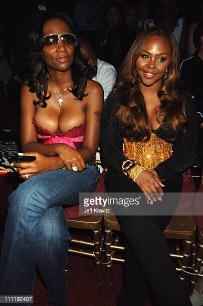Lil' Kim and guest during 2006 MTV Video Music Awards Audience at Radio City Music Hall in New York City New York United States