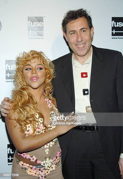 Lil Kim and Marc Juris during Fuse and Hot 97 Present Full Frontal Hip Hop With Host Lil Kim at Webster Hall in New York City New York United States