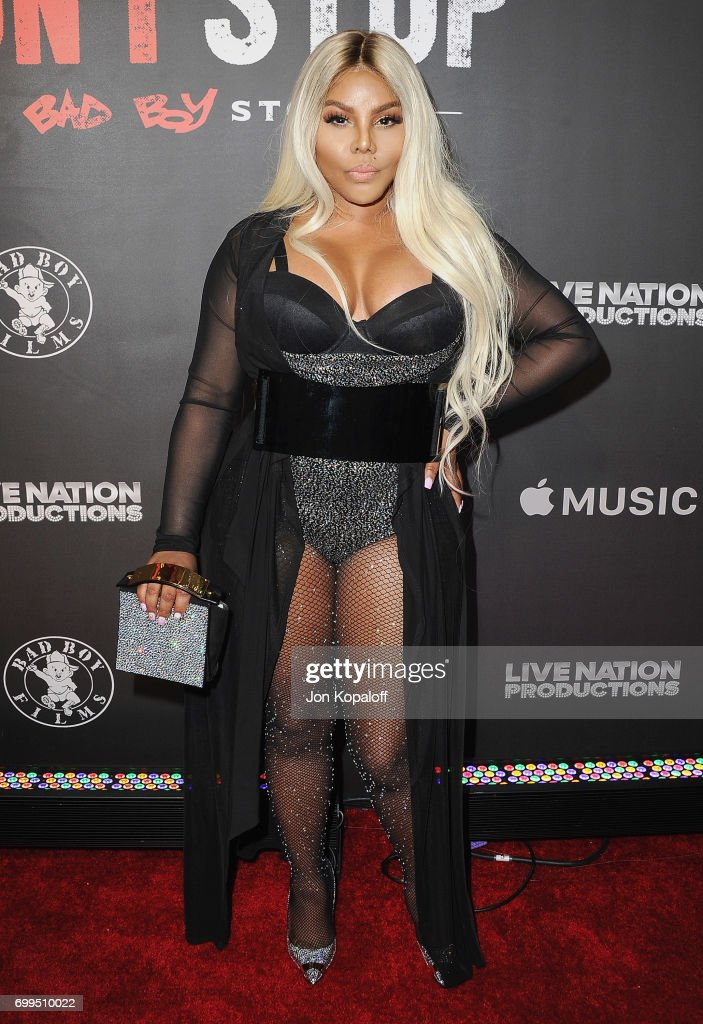 Lil' Kim arrives at the Los Angeles Premiere Of 'Can't Stop Won't Stop' at Writers Guild of America, West on June 21, 2017 in Los Angeles, California.