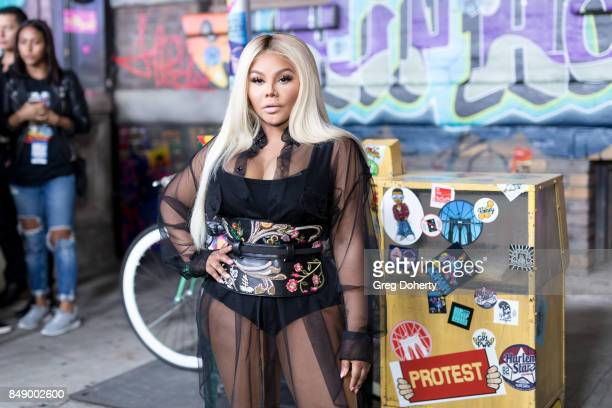 Lil Kim arrives for VH1's Hip Hop Honors The 90's Game Changers at Paramount Studios on September 17 2017 in Hollywood California