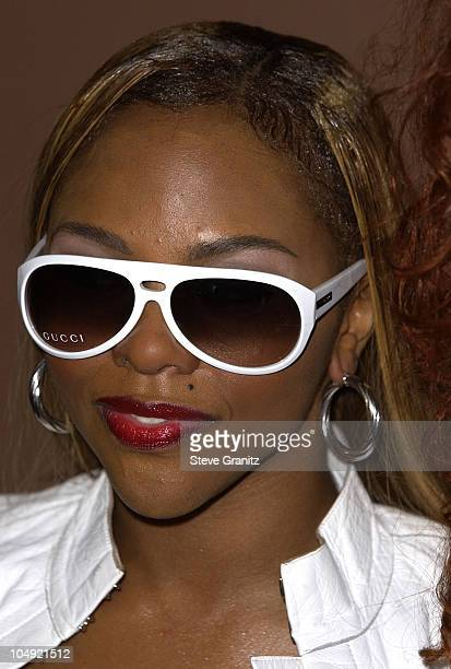 Lil' Kim at a press conference for BREATHE announcing a benefit concert for breast cancer research and treatment produced by Step Up Women's Network...