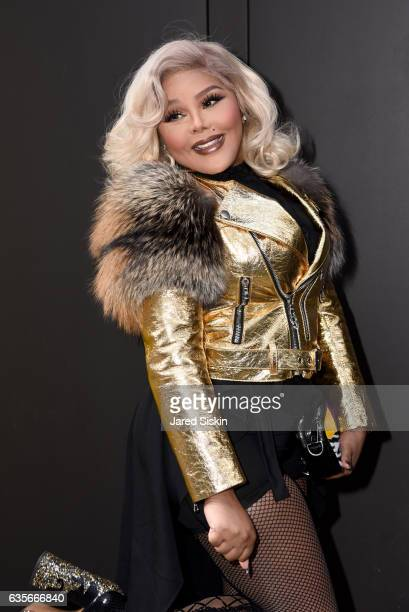 Lil Kim at the Marc Jacobs Fall 2017 Show at Park Avenue Armory on February 16, 2017 in New York City.