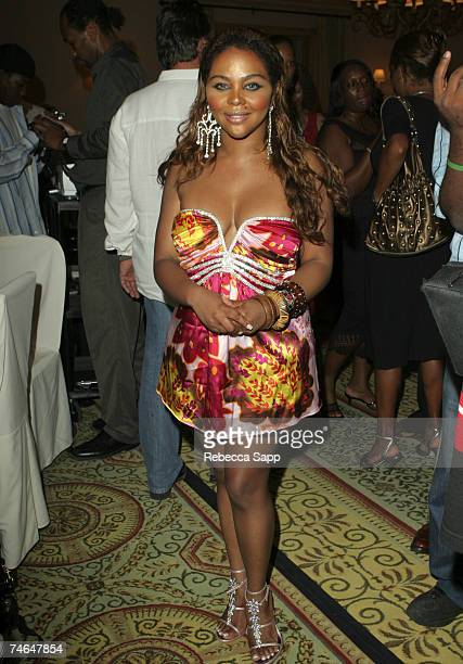 Lil' Kim at the The Palms Resort in Turks and Caicos Islands