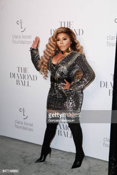 Lil Kim attends Rihanna's 3rd Annual Diamond Ball at Cipriani Wall Street on September 14 2017 in New York City